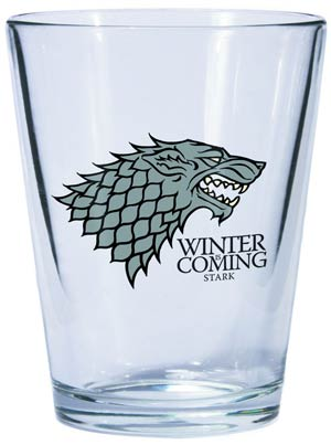 Game Of Thrones Shot Glass - Stark Sigil