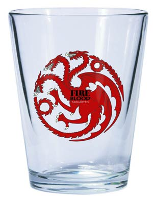 Game Of Thrones Shot Glass - Targaryen Sigil