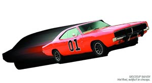 Dukes Of Hazzard General Lee 1/18 Scale Die-Cast Vehicle