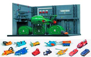 Thunderbirds Thunderbird 2 Container Dock 1/350 Scale Model Kit