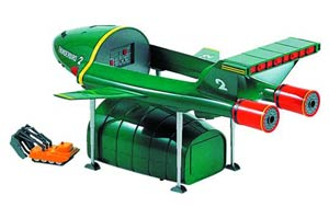 Thunderbirds 2 & 4 1/350 Scale Model Kit
