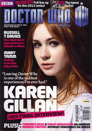 Doctor Who Magazine #453 Oct 2012