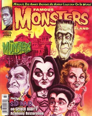 Famous Monsters Of Filmland #264 Nov / Dec 2012 Newsstand Edition