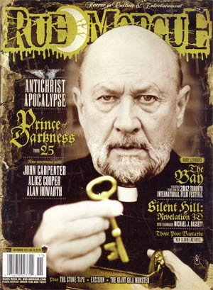 Rue Morgue Magazine #128 Nov 2012