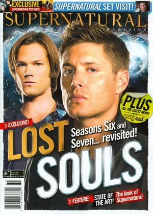 Supernatural Magazine #36 Mar 2013 Newsstand Edition