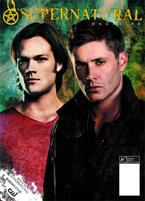 Supernatural Magazine #36 Mar 2013 Previews Exclusive Edition