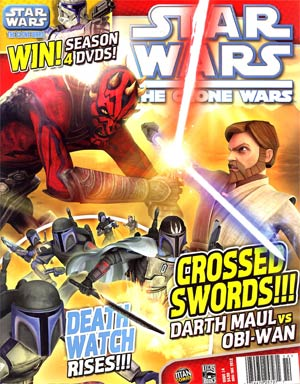 Star Wars Clone Wars Magazine #14 Nov / Dec 2012