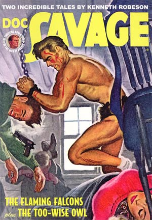 Doc Savage Double Novel Vol 62 Regular Emery Clarke Classic Cover