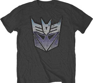 Transformers Vintage Decepticon T-Shirt Large