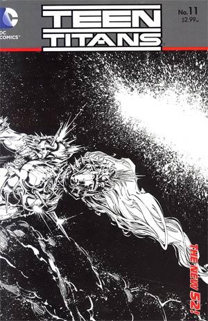 Teen Titans Vol 4 #11 Incentive Brett Booth Sketch Cover