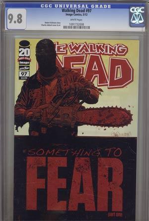 Walking Dead #97 CGC 9.8