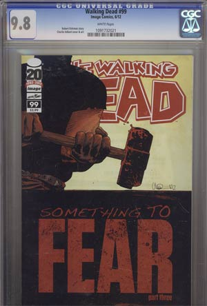 Walking Dead #99 CGC 9.8