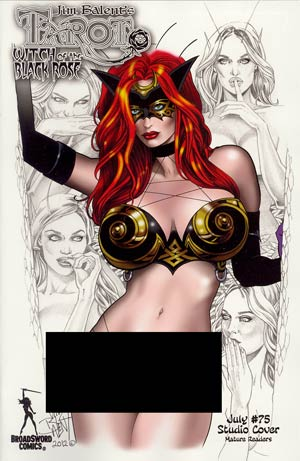 Tarot Witch Of The Black Rose #75 Incentive Special Variant Cover