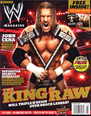 WWE Magazine #79 Aug 2012