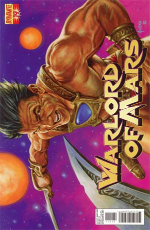 Warlord Of Mars #19 Regular Joe Jusko Cover