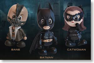 Batman The Dark Knight Rises Cosbaby 3-Piece Set