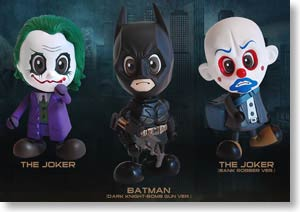 Batman The Dark Knight Cosbaby 3-Piece Set