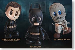 Batman Begins Cosbaby 3-Piece Set