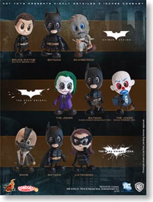 Batman Cosbaby 9-Piece Set