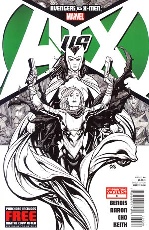 Avengers vs X-Men #0 Cover F 6th Ptg Frank Cho Variant Cover