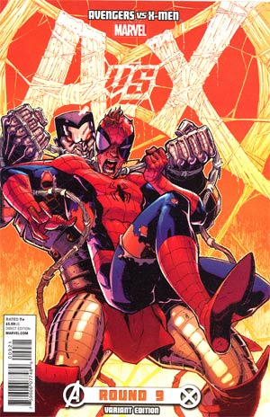 Avengers vs X-Men #9 Incentive Ryan Stegman Variant Cover