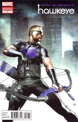Hawkeye Vol 4 #1 Incentive Adi Granov Variant Cover