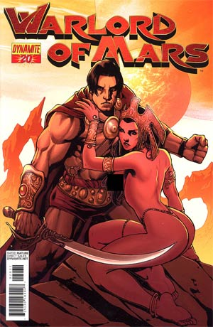 Warlord Of Mars #20 Incentive Pow Rodrix Risque Variant Cover