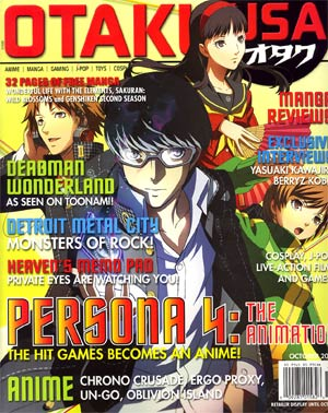 Otaku USA Vol 6 #2 Oct 2012