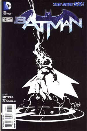 Batman Vol 2 #12 Incentive Greg Capullo Sketch Cover