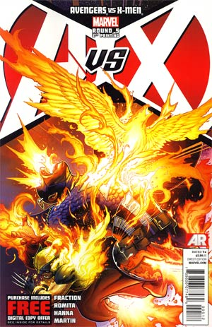 Avengers vs X-Men #5 2nd Ptg Jim Cheung Variant Cover