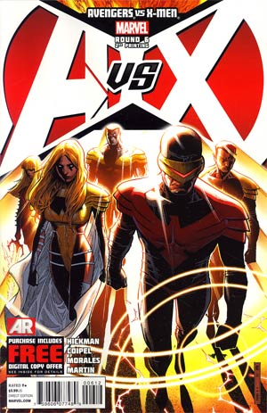 Avengers vs X-Men #6 2nd Ptg Jim Cheung Variant Cover