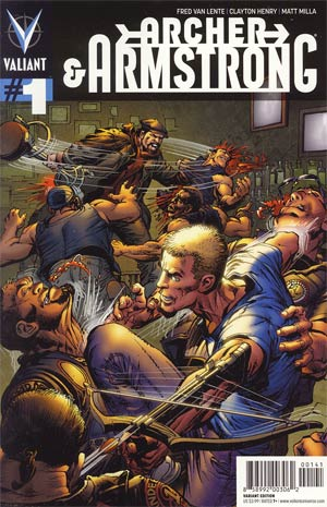 Archer & Armstrong Vol 2 #1 Incentive Neal Adams Variant Cover
