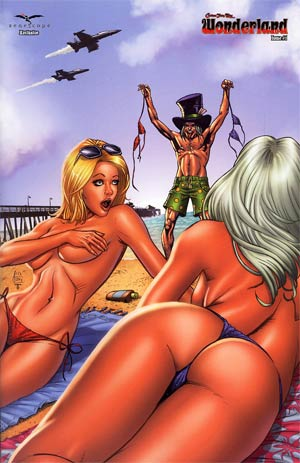 Grimm Fairy Tales Presents Wonderland Vol 2 #1 Zenescope Exclusive Anthony Spay Variant Cover