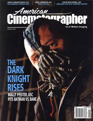 American Cinematographer Vol 93 #8 Aug 2012