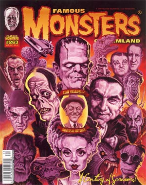 Famous Monsters of Filmland #263 Sep / Oct 2012 Newsstand Edition