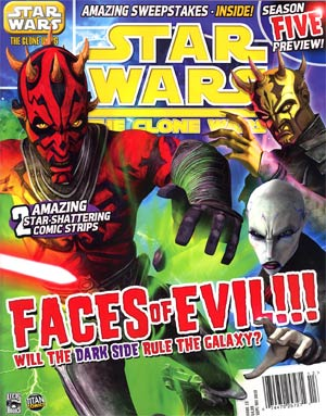 Star Wars Clone Wars Magazine #13 Sep / Oct 2012