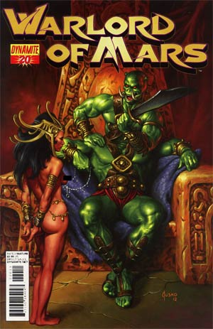 Warlord Of Mars #20 Regular Joe Jusko Cover