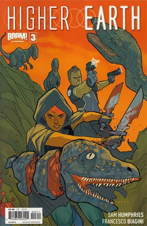 Higher Earth #3 Regular Cover B Phil Noto