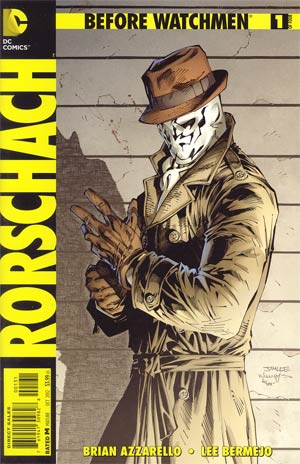 Before Watchmen Rorschach #1 Incentive Jim Lee Variant Cover