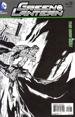 Green Lantern Vol 5 #12 Incentive Doug Mahnke Sketch Cover
