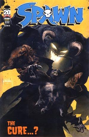 Spawn #222 Variant Szymon Kudranski Cover