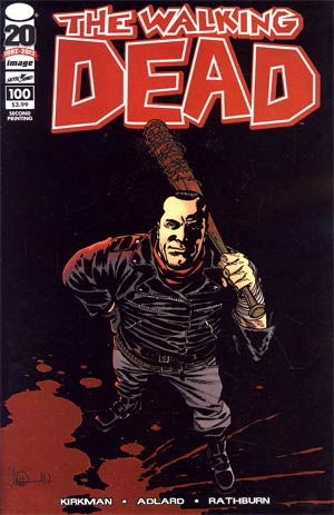Walking Dead #100 2nd Ptg