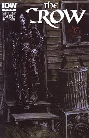 Crow Vol 4 #2 Incentive James OBarr Variant Cover