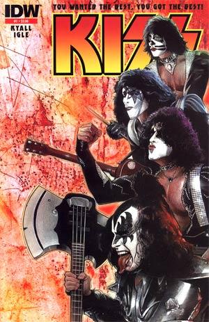 KISS Vol 2 #1 2nd Ptg