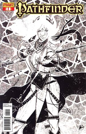 Pathfinder #1 Incentive Matteo Scalera Black & White Cover