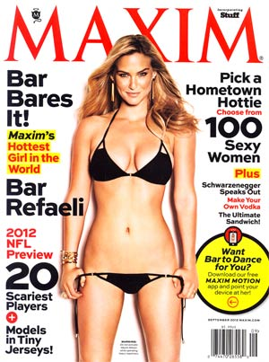 Maxim Magazine #176 Sep 2012