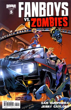 Fanboys vs Zombies #5 Regular Cover A Khary Randolph