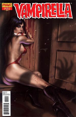 Vampirella Vol 4 #20 Regular Lucio Parrillo Cover