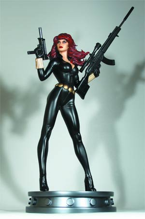 Black Widow Variant Statue By Bowen