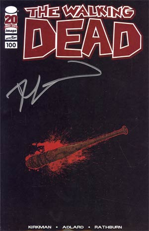 Walking Dead #100 Retailer Appreciation Lucille Variant Cover Signed by Robert Kirkman